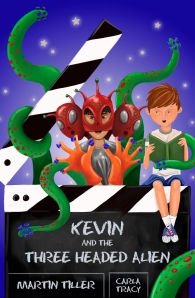 Click here to purchase a signed copy of Kevin and the Three-Headed Alien.