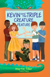 Kevin and the Triple Creature Feature. Get an autographed copy for $5.99